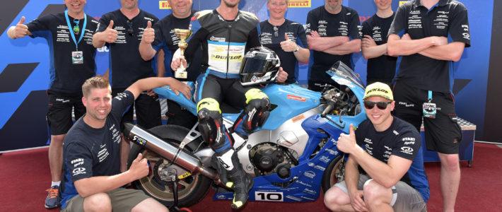 Podium voor Danny van der Sluis in Alpe Adria Cup