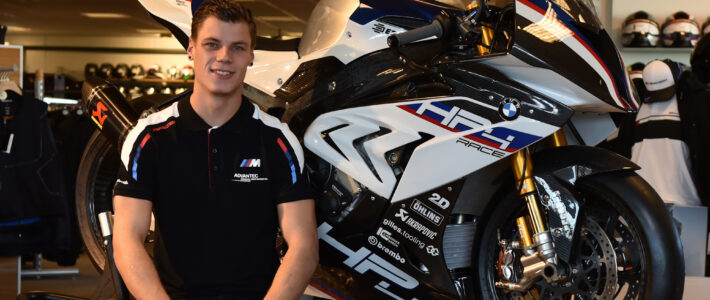 Ricardo Brink in 2021 met BCC Racing in IDM Superbike 1000